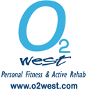 o2 west personal fitness studio logo